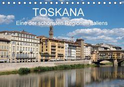 Toskana – eine der schönsten Regionen Italiens (Tischkalender 2018 DIN A5 quer) von Teuber,  Wolfgang
