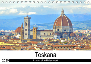 Toskana – Immer eine Reise wert (Tischkalender 2020 DIN A5 quer) von Bergini,  Andrea