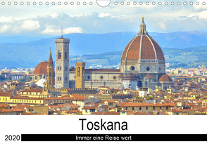 Toskana – Immer eine Reise wert (Wandkalender 2020 DIN A4 quer) von Bergini,  Andrea