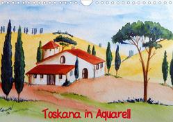 Toskana in Aquarell (AT-Version) (Wandkalender 2020 DIN A4 quer) von Huwer (Gute-Laune-Bilder-Huwer),  Christine