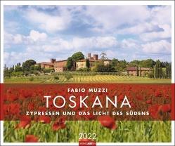 Toskana Kalender 2022 von Muzzi,  Fabio, Weingarten