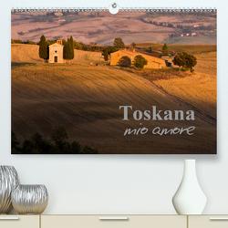 Toskana – mio amore (Premium, hochwertiger DIN A2 Wandkalender 2021, Kunstdruck in Hochglanz) von ledieS,  Katja