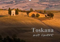 Toskana – mio amore (Wandkalender 2019 DIN A2 quer) von ledieS,  Katja