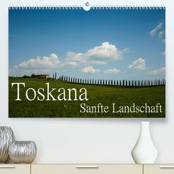 Toskana – Sanfte Landschaft (Premium, hochwertiger DIN A2 Wandkalender 2021, Kunstdruck in Hochglanz) von Stehle,  Brigitte