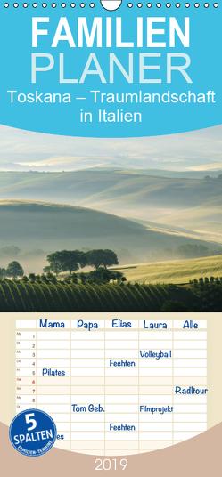 Toskana – Traumlandschaft in Italien – Familienplaner hoch (Wandkalender 2019 , 21 cm x 45 cm, hoch) von LianeM