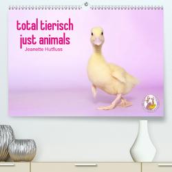 total tierisch just animals (Premium, hochwertiger DIN A2 Wandkalender 2020, Kunstdruck in Hochglanz) von Hutfluss,  Jeanette