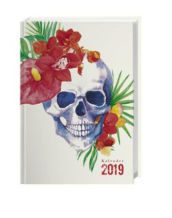 Totenkopf Schülerkalender A6 – Kalender 2019 von Heye