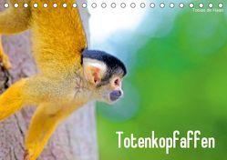 Totenkopfaffen (Tischkalender 2019 DIN A5 quer) von de Haan,  Tobias