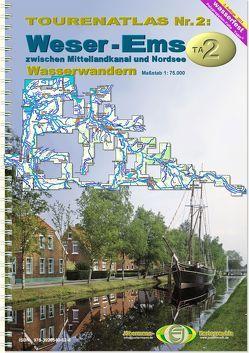 TourenAtlas Wasserwandern / TA2 Weser-Ems von Jübermann,  Erhard
