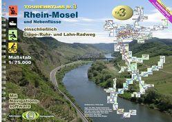 TourenAtlas Wasserwandern / TA3 Rhein-Mosel von Jübermann,  Erhard