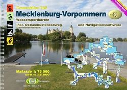 TourenAtlas Wasserwandern / TA6 Mecklenburg-Vorpommern von Jübermann,  Erhard