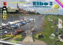 TourenAtlas Wasserwandern / TourenAtlas Nr.8 Elbe 2 von Jübermann,  Erhard