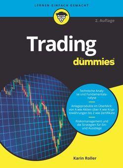 Trading für Dummies von Roller,  Karin