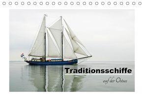 Traditionsschiffe auf der Ostsee (Tischkalender 2018 DIN A5 quer) von Carina-Fotografie