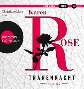 Tränennacht von Brandl,  Andrea, Marx,  Christiane, Rose,  Karen