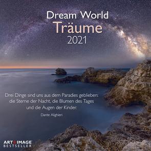 Träume 2021 – Wand-Kalender – Broschüren-Kalender – A&I – 30×30 – 30×60 geöffnet