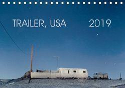Trailer, USA (Tischkalender 2019 DIN A5 quer) von Kutschker,  Thomas