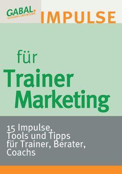 Trainermarketing von Reiter,  Hanspeter