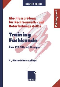 Training Fachkunde von Roeser,  Karsten