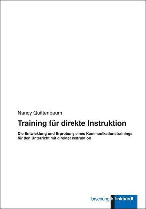 Training für direkte Instruktion von Quittenbaum,  Nancy