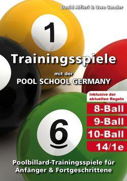 Trainingsspiele mit der POOL SCHOOL GERMANY von Alfieri,  David, Sander,  Uwe