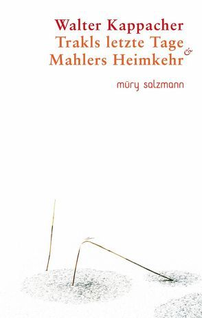 Trakls letzte Tage & Mahlers Heimkehr von Kappacher,  Walter