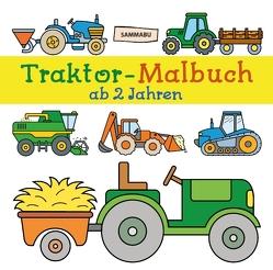 Traktor-Malbuch ab 2 Jahren