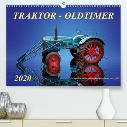 Traktor – OldtimerAT-Version (Premium, hochwertiger DIN A2 Wandkalender 2020, Kunstdruck in Hochglanz) von Roder,  Peter