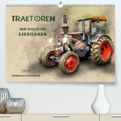 Traktoren – alte Schätze für Liebhaber (Premium, hochwertiger DIN A2 Wandkalender 2020, Kunstdruck in Hochglanz) von Roder,  Peter