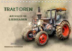 Traktoren – alte Schätze für Liebhaber (Tischkalender 2019 DIN A5 quer) von Roder,  Peter