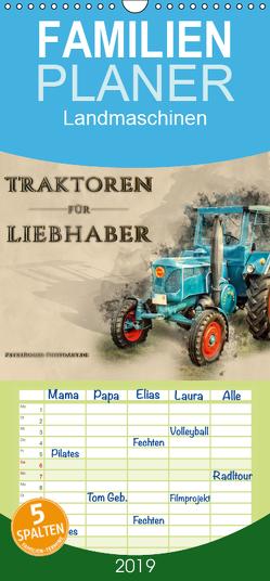Traktoren für Liebhaber – Familienplaner hoch (Wandkalender 2019 , 21 cm x 45 cm, hoch) von Roder,  Peter