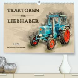 Traktoren für Liebhaber (Premium, hochwertiger DIN A2 Wandkalender 2020, Kunstdruck in Hochglanz) von Roder,  Peter