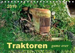 Traktoren – game over (Tischkalender 2019 DIN A5 quer) von Roder,  Peter