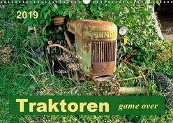 Traktoren – game over (Wandkalender 2019 DIN A3 quer) von Roder,  Peter