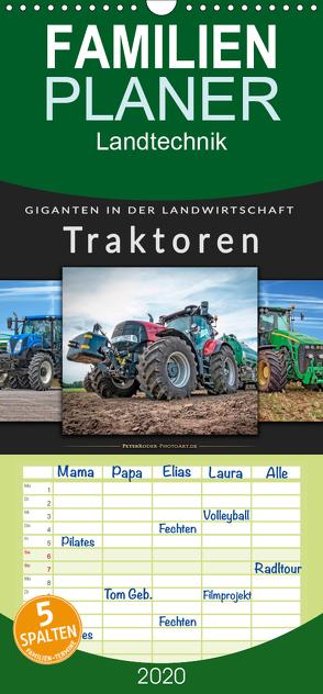 Traktoren – Giganten in der Landwirtschaft – Familienplaner hoch (Wandkalender 2020 , 21 cm x 45 cm, hoch) von Roder,  Peter
