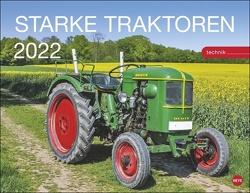 Traktoren Kalender 2022 von Heye