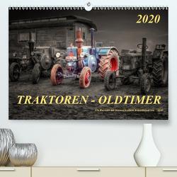 Traktoren – OldtimerAT-Version (Premium, hochwertiger DIN A2 Wandkalender 2020, Kunstdruck in Hochglanz) von Roder,  Peter