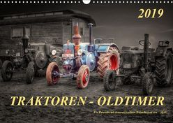 Traktoren – OldtimerAT-Version (Wandkalender 2019 DIN A3 quer)