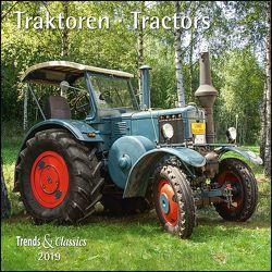 Traktoren Tractors 2019 – Broschürenkalender – Wandkalender – mit herausnehmbarem Poster – Format 30 x 30 cm von DUMONT Kalenderverlag, Seiffert,  Joachim