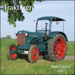 Traktoren Tractors 2020 – Broschürenkalender – Wandkalender – mit Schulferientabelle – Format 30 x 30 cm von DUMONT Kalenderverlag, Seiffert,  Joachim