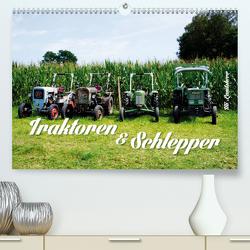 Traktoren und Schlepper (Premium, hochwertiger DIN A2 Wandkalender 2021, Kunstdruck in Hochglanz) von Landsherr,  Uli