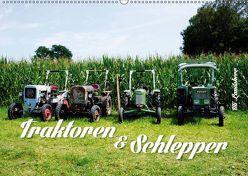 Traktoren und Schlepper (Wandkalender 2019 DIN A2 quer) von Landsherr,  Uli
