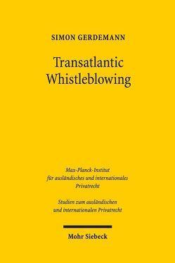 Transatlantic Whistleblowing von Gerdemann,  Simon