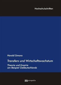 Transfers und Wirtschaftswachstum von Simons,  Harald