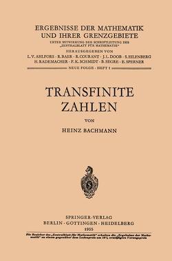 Transfinite Zahlen von Bachmann,  Heinz