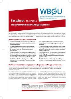 Transformation der Energiesysteme