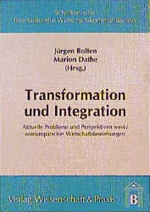 Transformation und Integration von Bolten,  Jürgen, Dathe,  Marion