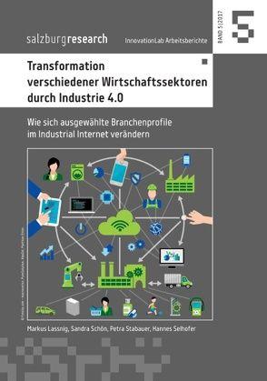 Transformation verschiedener Wirtschaftssektoren durch Industrie 4.0 von Lassnig,  Markus, Schön,  Sandra, Selhofer,  Hannes, Stabauer,  Petra