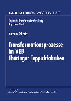 Transformationsprozesse im VEB Thüringer Teppichfabriken von Schmidt,  Kathrin