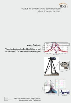 Transiente Amplitudenüberhöhung bei verstimmten Turbinenbeschaufelungen von Bonhage,  Marius, Wallaschek,  Jörg